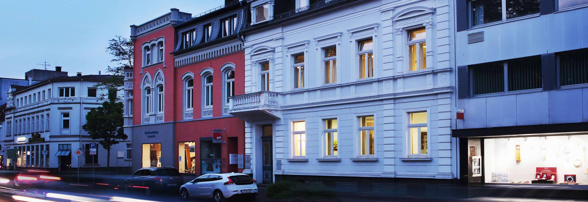Paulinenstraße 37 bei Nacht